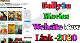 Bolly4u 2020 – Download Bollywood, Hollywood Hindi Dubbed Movies