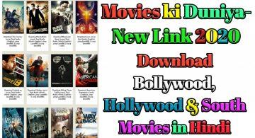 Movies ki Duniya Website। 300MB,720p Bollywood Movies Download