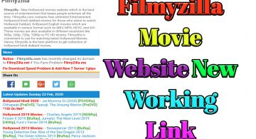 Filmyzilla 2020 – Download Latest Bollywood, Hollywood Hindi Dubbed Movies